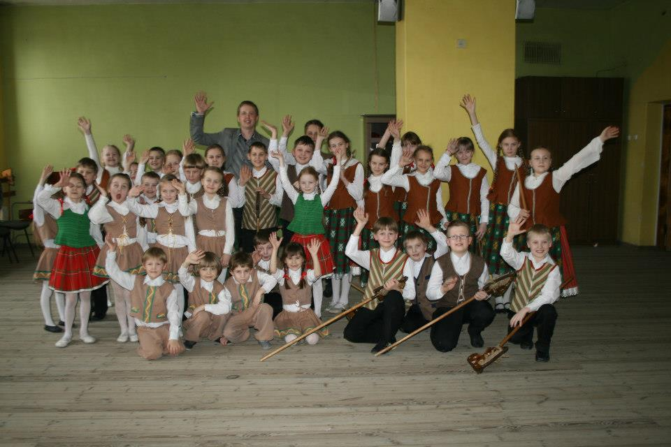 ansamblio meno vadovas ir baletmeisteris Darius Žilinskas